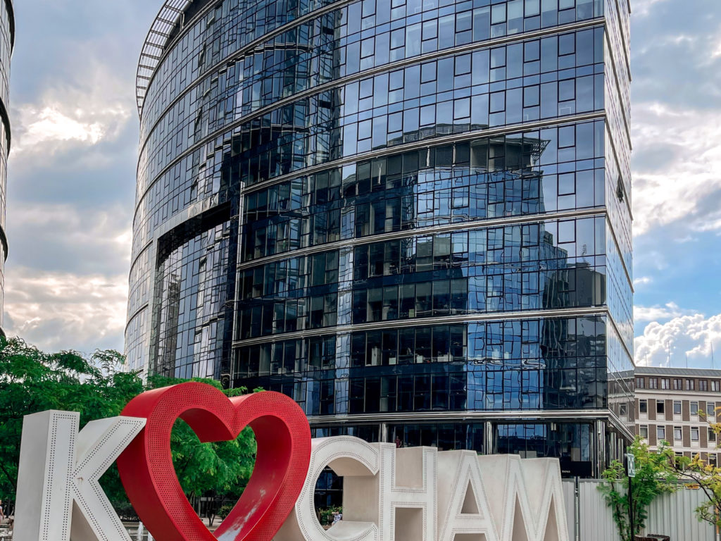 Mirów, Warsaw – the place of glass & steel